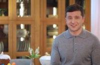 Владимир Зеленский поздравил украинцев с наступающим Светлым Христовым Воскресеньем (ВИДЕО)