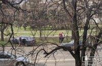 На Днепропетровщине в результате ДТП легковушка вылетела на обочину