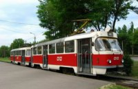 В Днепре трамвай №11 временно приостановит свою работу