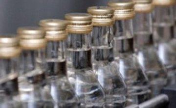 25 тыс. бутылок неизвестной водки не доехали до Днепропетровска