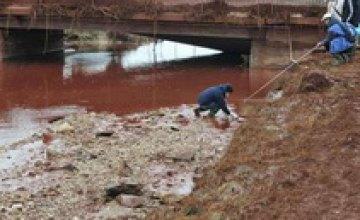 Токсичные отходы из Венгрии попали в Дунай