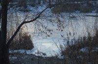 В Днепропетровске на ж/м Фрунзенский спасли двоих детей, провалившихся под лед