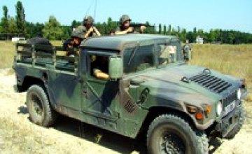 В Днепропетровске заканчивается подготовка миротворческого батальона к миссии в Косово