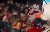 Жители ж/м Кротова поделились впечатлениями о «Новогоднем караване» (ФОТОРЕПОРТАЖ)