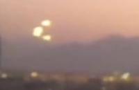Над Чили пронеслась группа сияющих НЛО