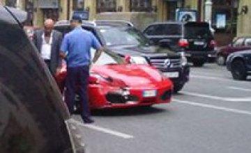 Пьерлуиджи Коллина на Ferrari совершил ДТП в Киеве