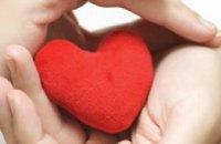 В Днепропетровске День влюбленных пара отметила венчанием в проруби