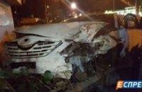 ДТП с участием такси в Киеве: есть пострадавшие