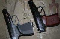 У жителя Никополя правоохранители изъяли 2 пистолета