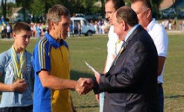 Стадион в Межевой - новое место на спортивной карте Украины, - Глеб Пригунов