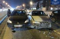 В Днепре на пр. Слобожанском пьяный водитель Daewoo протаранил две легковушки: есть пострадавшие