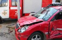 В центре Днепра столкнулись две легковушки: есть пострадавшие (ФОТО)