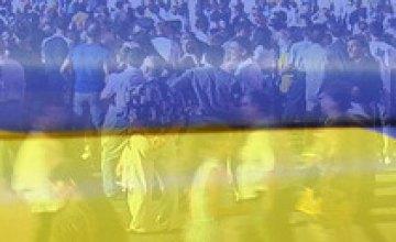 Население Украины за месяц сократилось на 20 тысяч