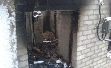 На Днепропетровщине во время ликвидации пожара спасатели нашли тело мужчины