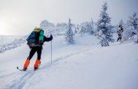 Жительница Днепра травмировалась во время катания на лыжах в горах: спасатели оказали ей помощь