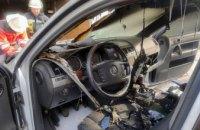 В Кривом Роге в гараже сгорел автомобиль (ФОТО)