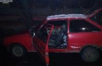 В Днепре трое мужчин угнали автомобиль (ФОТО)