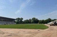 В Кривом Роге идет активное строительство стадиона «Спартак», который станет инновационной площадкой для современных видов спорта