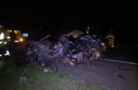 Около Каменки грузовик столкнулся с Mazda: двое пассажиров легковушки погибли (ВИДЕО)