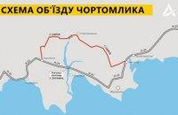 Движение по понтонному мосту в Никопольском районе приостановили до пятницы