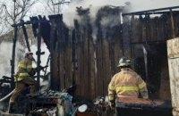 Спасатели Широковского района ликвидировали возгорание в хозпостройке