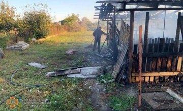 В Подгородном случился пожар в результате которого погибло 10 домашних животных