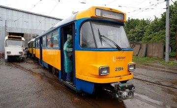 В Днепре готовят к выходу на маршруты 7 новых трамваев из Германии