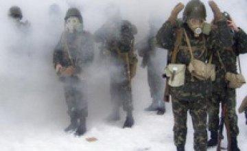 В Днепропетровской области военные боролись против «террористов»