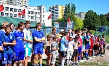 В Днепропетровске прошел молодежный турнир по футболу и пейнтболу
