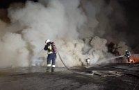 Пожар на агрегатном заводе в Днепре: огнем уничтожено 400 кв. метров (ФОТО)
