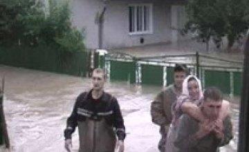 МЧС Днепропетровской области отправило 57 спасателей на Западную Украину