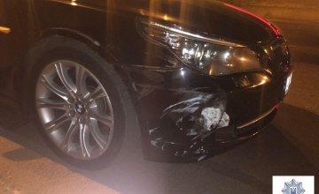 В Кривом Роге 34-летний пьяный водитель скрылся с места ДТП