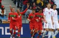 Португалия забила КНДР 7 мячей на ЧМ в ЮАР