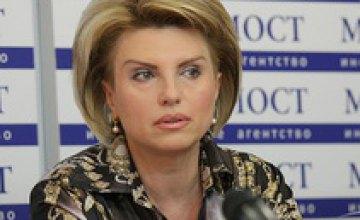 Елена Лозенко поздравила творческие коллективы Днепропетровска с Днем защиты детей