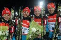Украинские спортсмены завоевали бронзовую медаль на чемпионате мира по биатлону