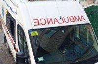 В Днепре ограбили машину скорой помощи