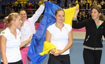 Украинские теннисистки победили израильтянок в Кубке Федерации