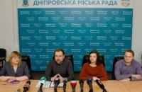 В мэрии Днепра назвали разрушение скульптуры «Днепровские волны» вандализмом