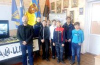 Работники Музея АТО начали проводить в школах Днепропетровщины патриотические уроки