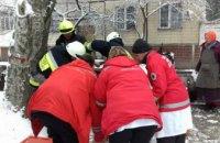 В Днепре спасли мужчину, провалившегося в коллектор теплотрассы (ФОТО)