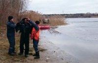 В Днепродзержинске на водохранилище спасли повалившегося под лед рыбака