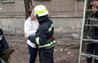 На Днепропетровщине спасли кошку (ФОТО)