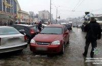 В Днепре конфликт на парковке возле «Озерки» перерос в драку между водителями (ФОТО)