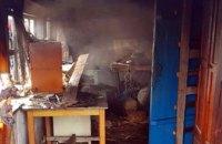 На Днепропетровщине в собственной кухне заживо сгорел мужчина