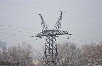 В Украине из-за снегопадов без света остались 15 поселков и сел