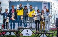 Дніпровські спортсмени вибороли призове місце на чемпіонаті Східної Європи з вітрильного спорту