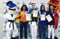 Днепровские тхеквондисты получили «золото» и «бронзу» на чемпионате Европы