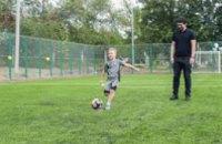 ДнепрОГА подарила детям Подгородного мини-футбольное поле