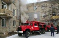 В Жёлтых Водах загорелась многоэтажка: спасатели вывели на свежий воздух жителей дома
