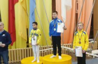 Днепряне стали чемпионами Украины среди юниоров по спортивной гимнастике